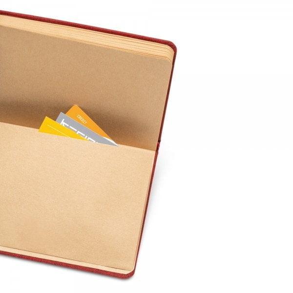 Notesi A5 beležka s trdimi platnicami – reciklirana plastika