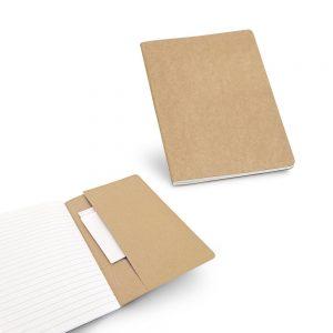 Ekoman A5 beležka z 80 recikliranimi listi in kartonsko platnico