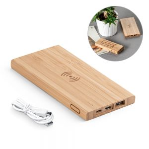 All products FITCH. Portable battery with wireless charging 5.000mAh