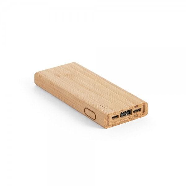 Brezžični in prenosni polnilci Prenosna baterija iz bambusa