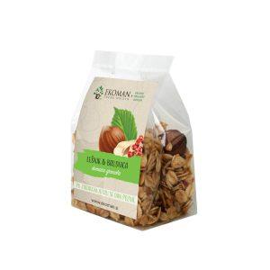Granola Ročno izdelana granola – lešnik in brusnica