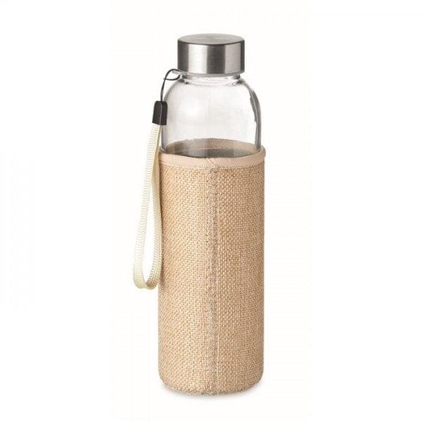 Stekleničke Steklenička v obleki iz jute in neoprena