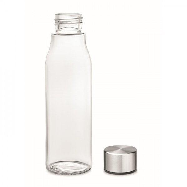 Stekleničke Steklenička za vodo z aluminijastim pokrovčkom