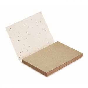 All products Grass seed paper memo block