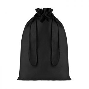 Cotton Large Cotton draw cord bag