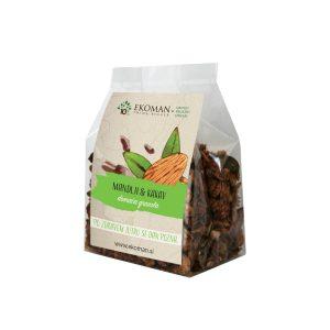 Ekoman Ročno izdelana granola – mandlji in kakav
