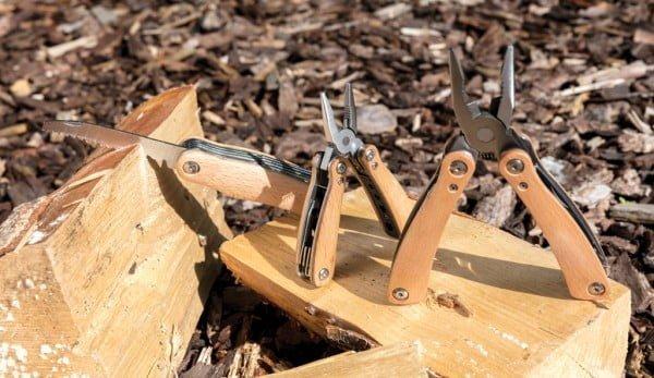 Pripomočki Lesen žepni nož