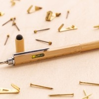 Accessories Bamboo 5 in 1 toolpen