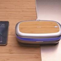 Brezžični in prenosni polnilci Brezžični UV-C sterilizator in polnilec v enem