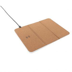 Brezžični in prenosni polnilci 5W brezžična polnilna podlaga za miško iz plute
