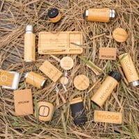 Brezžični in prenosni polnilci Bambusov brezžični 4000 mAh prenosni polnilec