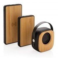 Brezžični zvočniki Bambusov brezžični modni zvočnik