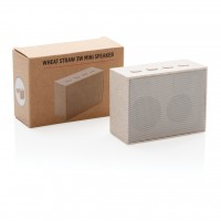 Brezžični zvočniki Mini zvočnik 3W iz pšeničnih vlaken