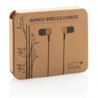 Naglavne in ušesne slušalke Ušesne slušalke iz bambusa
