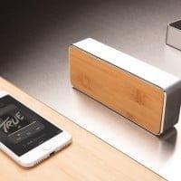 Brezžični zvočniki 3W brezžični zvočnik iz bambusa