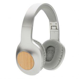 Naglavne in ušesne slušalke Brezžične slušalke iz bambusa Dakota