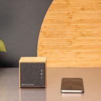 All products Wynn 5W wireless bamboo speaker