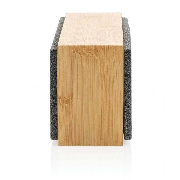 Brezžični zvočniki 10W brezžični zvočnik iz bambusa