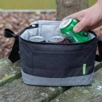 Kuhinja Dvobarvna hladilna torba iz recikliranih plastenk