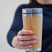 Skodelice Termo lonček za kavo iz bambusa