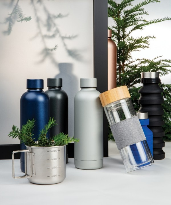 All products Impact double wall borosilicate glass bottle