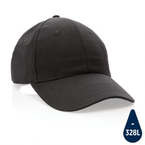 All products Impact 6 panel 190gr Recycled cotton cap with AWARE™ tracer