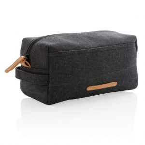 All products Canvas toiletry bag PVC free