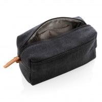 Kozmetične torbice Toaletna torbica iz blaga brez PVCja