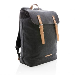 All products Canvas laptop backpack PVC free