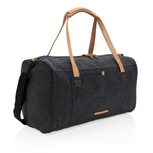 All products Canvas travel/weekend bag PVC free