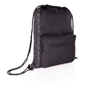 Backpacks AWARE™ RPET Reflective drawstring backpack