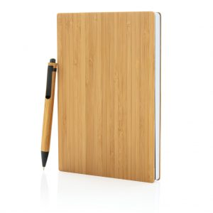All products A5 Bamboo notebook & pen set
