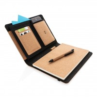 All products Deluxe cork portfolio A5 with pen
