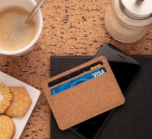 Denarnice in hranilniki Tanka denarnica iz plute z RFID zaščito