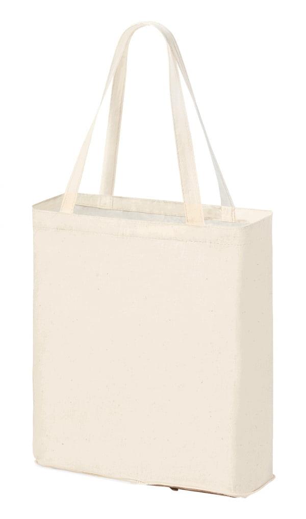 Bombaž Zložljiva bombažna vrečka z ročaji