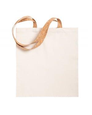 Cork Yulia cotton shopping bag