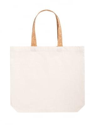 Cork Tuarey cotton shopping bag