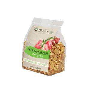 All products Handmade granola – strawberries and white chocolate