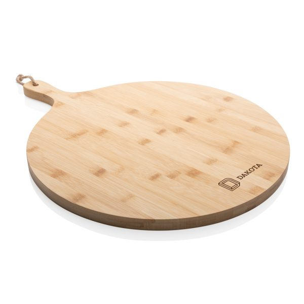 Kuhinja Bambusova okrogla servirna deska