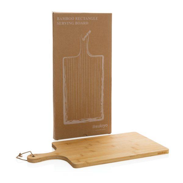 Kuhinja Bambusova pravokotna servirna deska