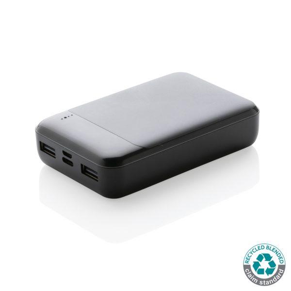 Brezžični in prenosni polnilci Standardni RCS 10.000 mAh brezžični prenosni polnilec iz reciklirane plastike