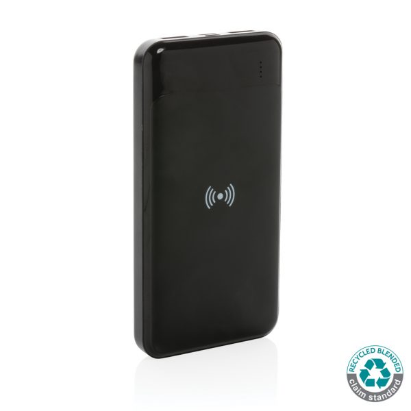 All products RCS standard recycled plastic wireless powerbank