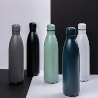 Stekleničke Enobarvna vakuumska steklenica iz nerjavečega jekla 750 ml