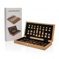 All products Luxury wooden foldable chess set