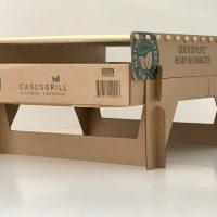 Garden & Balcony Degradable natural portable grill Casusgrill