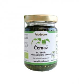 Eko / zdrave dobrote Čemaževa bio omaka z konopljinimi semeni